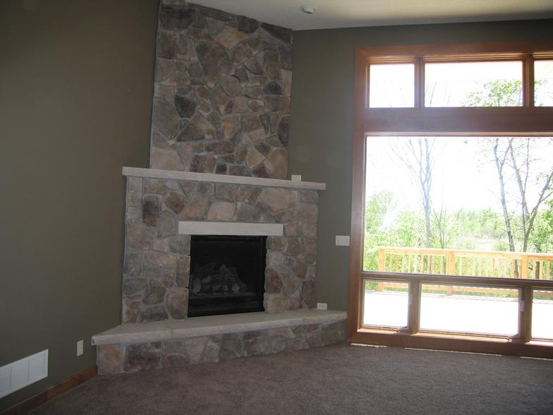 Fireplace Ideas on Pinterest | Corner Fireplaces, Fireplaces and ...